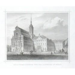 Die St. Thomaskirche und das Landhaus in Brünn