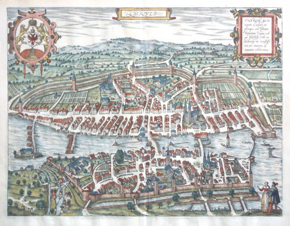 Zurych. Tigurum, sive Turegum - Antique map