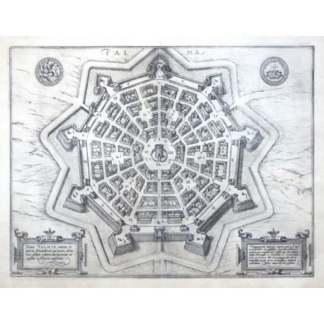 Palma. Nova Palmae civitatis in patria Foroiuliensis ad maris Adriatici