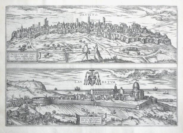 Orvieto - Laurentum - Stará mapa