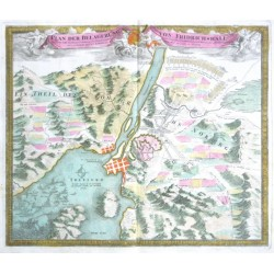 Plan der Belagerung von Fridrichshall