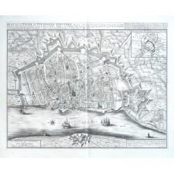 Plan de la Ville et Citadelle d'Anvers  - De Stad en het Casteel van Antwerpen