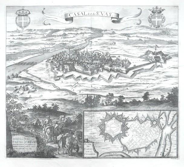 Casal dit de St. Vas - Stará mapa