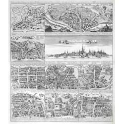 Vienna - Accuratus  Prospectus  Viennae  - Eigentlicher  Prospect der  Stadt Wien