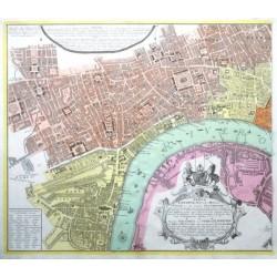 Vrbium Londini  - Neuester Grundris der Staedte London