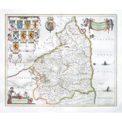 Comitatvs Northvmbria, Vernacule Northumberland