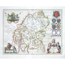 Westmoria Comitatvs - Anglice Westmorland