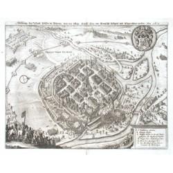 Plzeň - Abbildung der Statt Pilsen in Böhmen