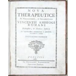 Nova Therapeutice Ad Rheumatismus, et Inflammationes