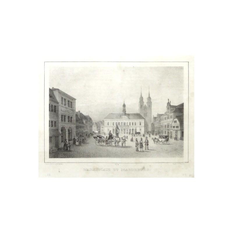 Marktplatz zu Magdeburg