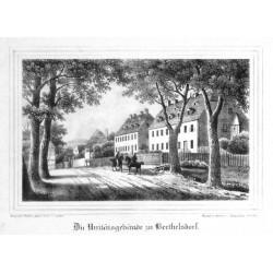 Die Unitätsgebäude zu Berthelsdorf