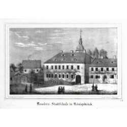 Knaben-Stadtschule in Königsbrück