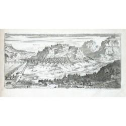 Veue de Mont Melian du Coste de la Perouse