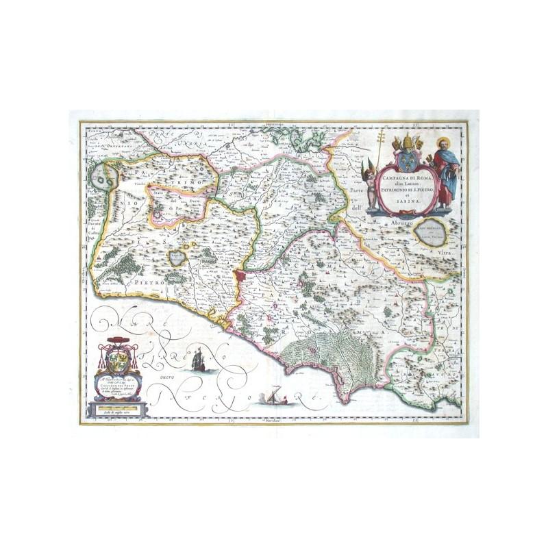 Campagna di Roma, olim Latium: Patrimonio di S. Pietro et Sabina