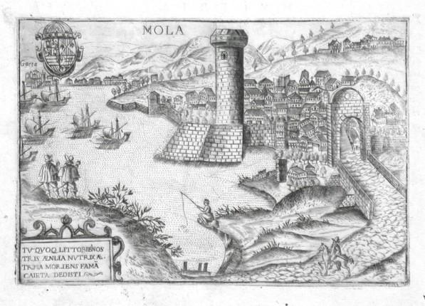 Mola - Alte Landkarte