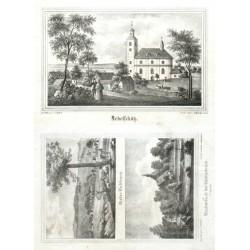 """Nieder-Lichtenau"""" - """"Reichenbach bei Königsbrück"""""""