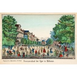 Franzensbad bei Eger in Böhmen