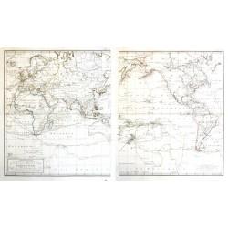 Generalkarte saemmtlicher Entdeckungen  des Kapit.  Cook
