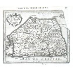 Insula Ceilan quae incolis Tenarisin dicitur