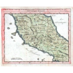 Carte  de la Republique Romaine
