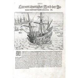 Ein verrähterlicher Mord der Javaner auff dem Schiff Hollandia