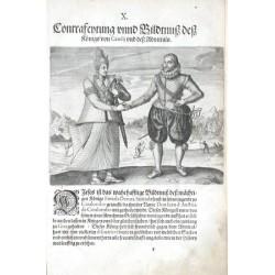 Contrafeytung unnd Bildtnuss dess Königs von Candij und dess Admirals
