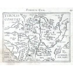 Tyrolsko - Tirolis Comitat.