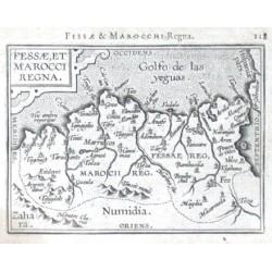 Fessae, et Marocci Regna