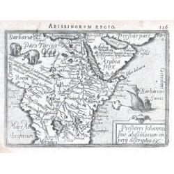 Africa - Presbiteri Iohannis sive Abissinorum imperii descriptio