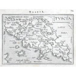 Toskánsko - Tuscia