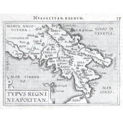 South Italy - Typus Regni Neapolitan.