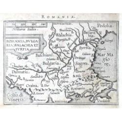 Balkan - Romania, Bulgaria, Walachia et Syrfia