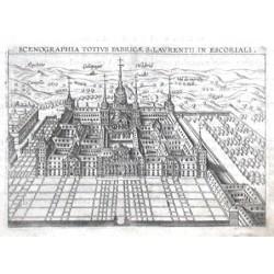 Scenographia totius fabricae S. Laurentii in Escoriali