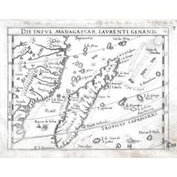 Madagaskar - Die Insul Madagascar, Laurenti genand