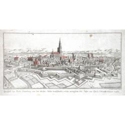 Prospekt der Stadt Strasburg