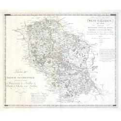 West-Galizien - III-tes Blatt, enthatend den Wiazowner, Siedlcer, Bialer, Chelmer und Lubliner Kreis