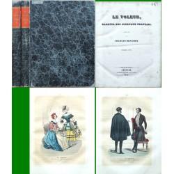 Le Voleur, Gazette des journaux francais. Anée 1842.