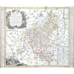 Accurate  Delineation derer  Aemter  Glauchau  Waldenburg  Lichtenstein  Hartenstein  Stein