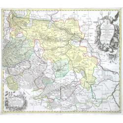 Tabula Geographica Principatus Halberstadiensis,  Quedlinburg,  Wernigerod