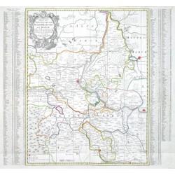 Geographische Charte des Hertzogthums Magdeburg und Halle