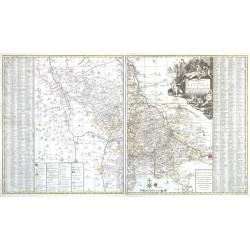 Geographischer Entwurff derer Aemmter Meissen