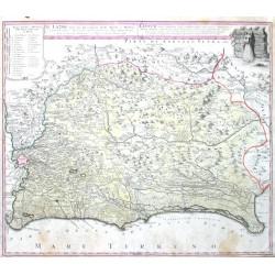 Il Lazio, con  Strade Antiche e Moderne