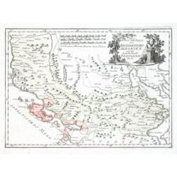 Der Südliche Theil des Koenigreichs Albanien mit der Landschaft Thessalien