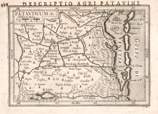 Patavinum - Antique map