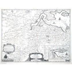 Landtcarte von dem Ambte Flensborg ohne Nordgoeßherde. Anno 1648