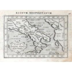 South Italy - Typus Regni Neapolitani