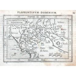 Florencie - Toskánsko - Florentinum Dominium