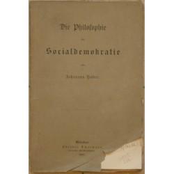 Die Philosophie der Socialdemokratie