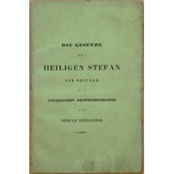 Die Gesetze des Heiligen Stefan