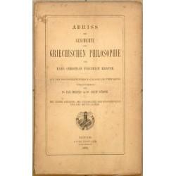 Abriss der Geschichte der Griechischen Philosophie